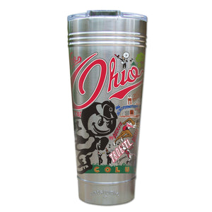 Ohio State University Collegiate Thermal Tumbler (Set of 4) - PREORDER Thermal Tumbler catstudio