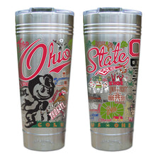 Load image into Gallery viewer, Ohio State University Collegiate Thermal Tumbler (Set of 4) - PREORDER Thermal Tumbler catstudio