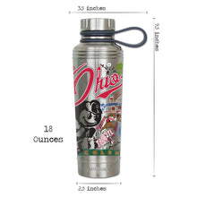 Load image into Gallery viewer, Ohio State University Collegiate Thermal Bottle - catstudio