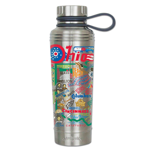 Ohio Thermal Bottle - catstudio