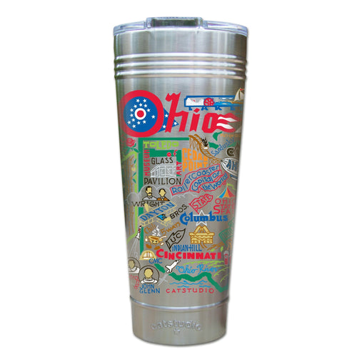 Ohio Thermal Tumbler (Set of 4) - PREORDER Thermal Tumbler catstudio