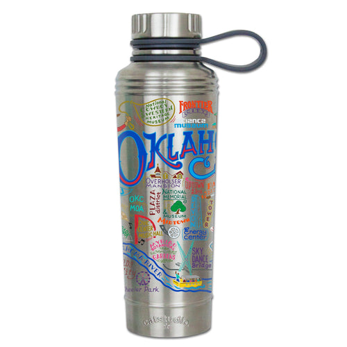Oklahoma City Thermal Bottle Thermal Bottle catstudio