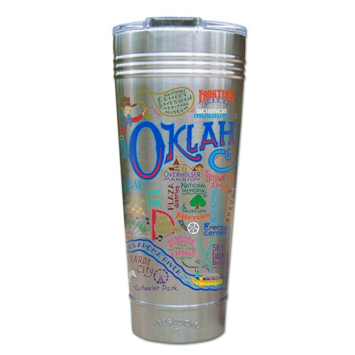 Oklahoma City Thermal Tumbler (Set of 4) - PREORDER Thermal Tumbler catstudio
