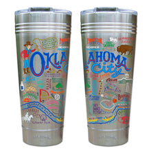 Load image into Gallery viewer, Oklahoma City Thermal Tumbler (Set of 4) - PREORDER Thermal Tumbler catstudio