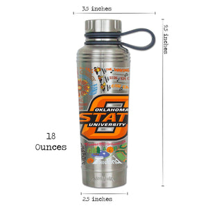 Oklahoma State University Collegiate Thermal Bottle - catstudio