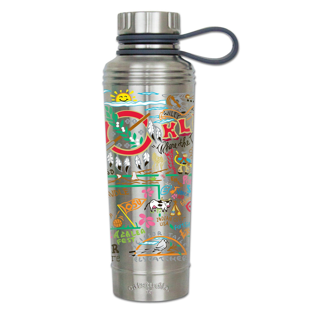 Oklahoma Thermal Bottle - catstudio
