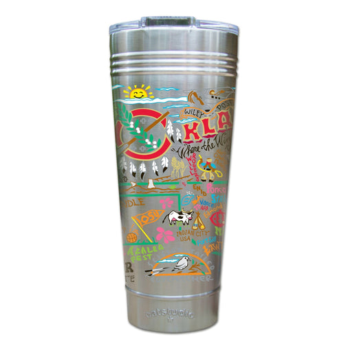 Oklahoma Thermal Tumbler (Set of 4) - PREORDER Thermal Tumbler catstudio