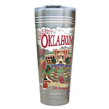 Load image into Gallery viewer, Oklahoma, University of Collegiate Thermal Tumbler (Set of 4) - PREORDER Thermal Tumbler catstudio