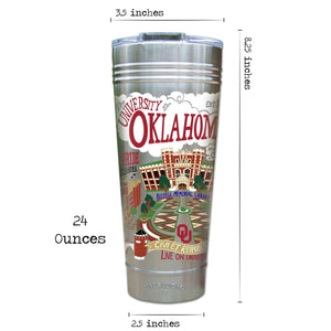 Oklahoma, University of Collegiate Thermal Tumbler (Set of 4) - PREORDER Thermal Tumbler catstudio