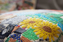 Load image into Gallery viewer, Omaha Hand-Embroidered Pillow - catstudio