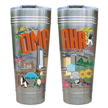 Load image into Gallery viewer, Omaha Thermal Tumbler (Set of 4) - PREORDER Thermal Tumbler catstudio