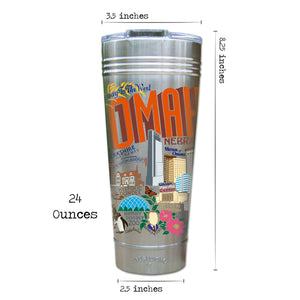 Omaha Thermal Tumbler (Set of 4) - PREORDER Thermal Tumbler catstudio