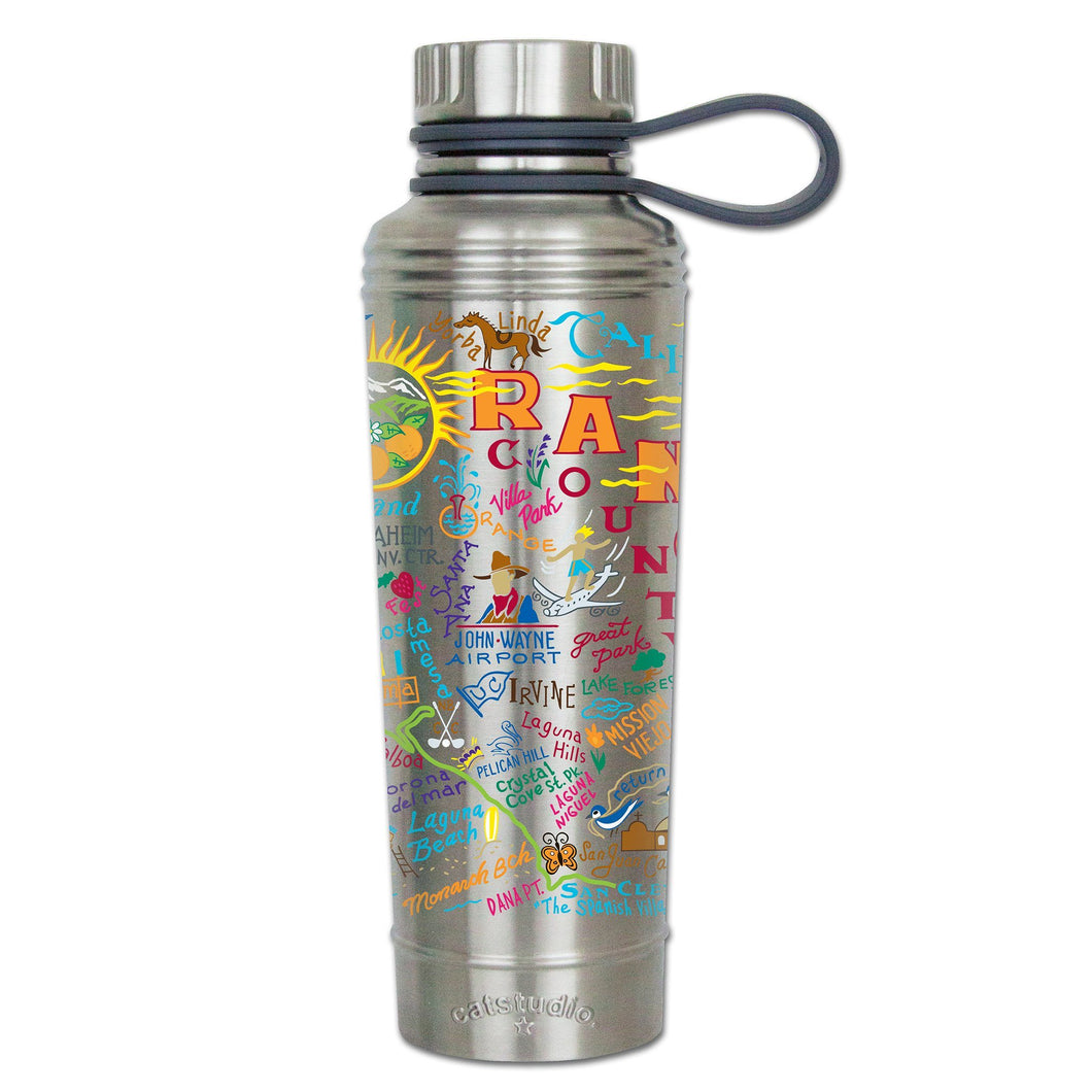 Orange County Thermal Bottle - catstudio
