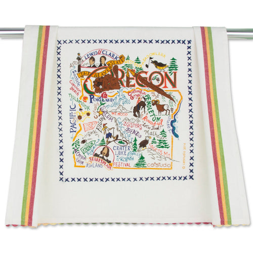 Oregon Dish Towel - catstudio