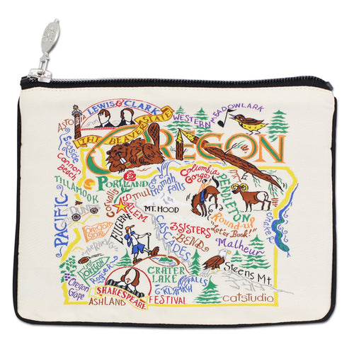 Oregon Zip Pouch - Natural - catstudio
