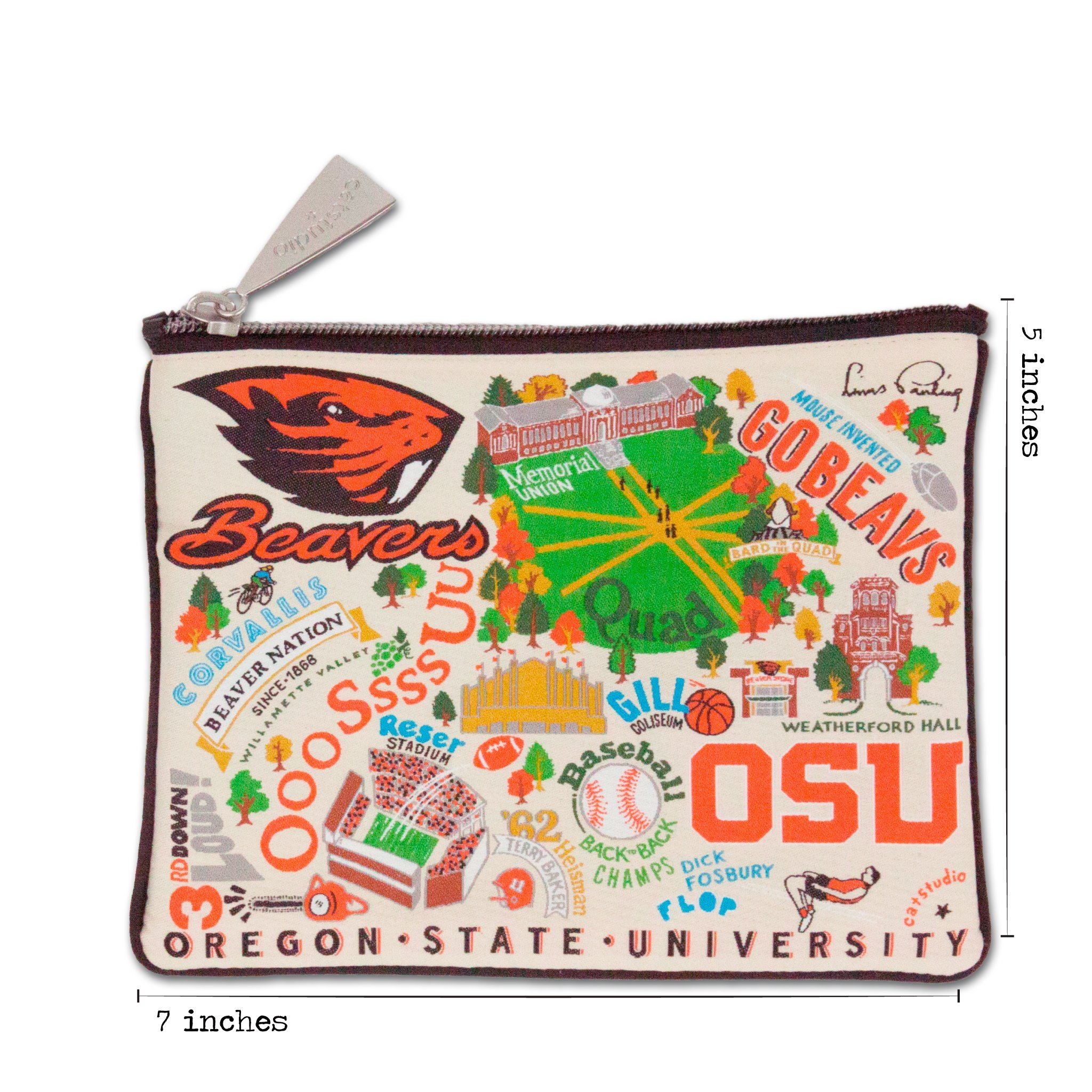 Oregon State University Zip Pouch | Collegiate Collection by