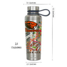 Load image into Gallery viewer, Oregon State University Collegiate Thermal Bottle - catstudio