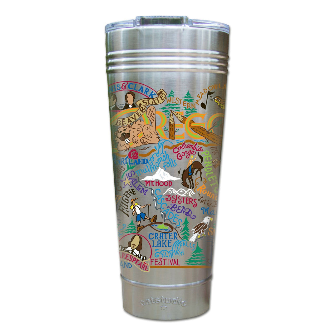 Oregon Thermal Tumbler (Set of 4) - PREORDER Thermal Tumbler catstudio