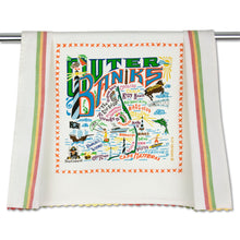 Load image into Gallery viewer, Outer Banks Dish Towel - catstudio