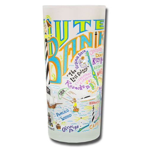 Outer Banks Drinking Glass - catstudio