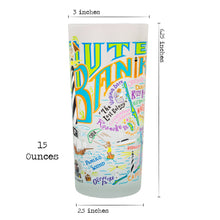 Load image into Gallery viewer, Outer Banks Drinking Glass - catstudio