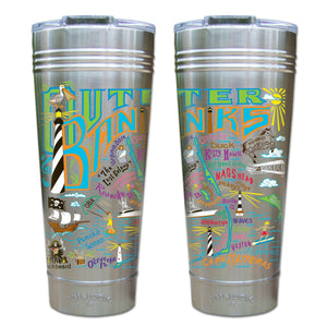 Outer Banks Thermal Tumbler (Set of 4) - PREORDER Thermal Tumbler catstudio