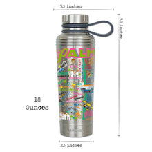 Load image into Gallery viewer, Palm Beach Thermal Bottle Thermal Bottle catstudio