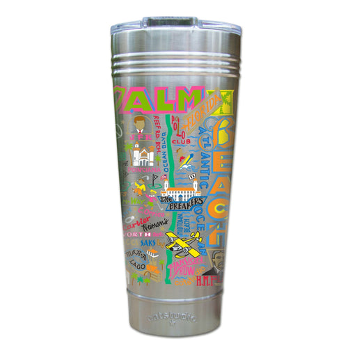 Palm Beach Thermal Tumbler (Set of 4) - PREORDER Thermal Tumbler catstudio