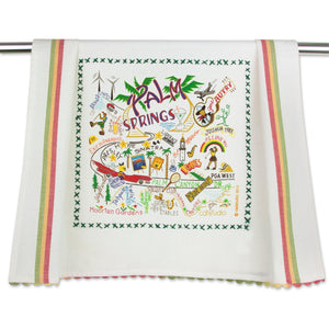 Palm Springs Dish Towel - catstudio