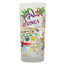 Load image into Gallery viewer, Palm Springs Drinking Glass - catstudio