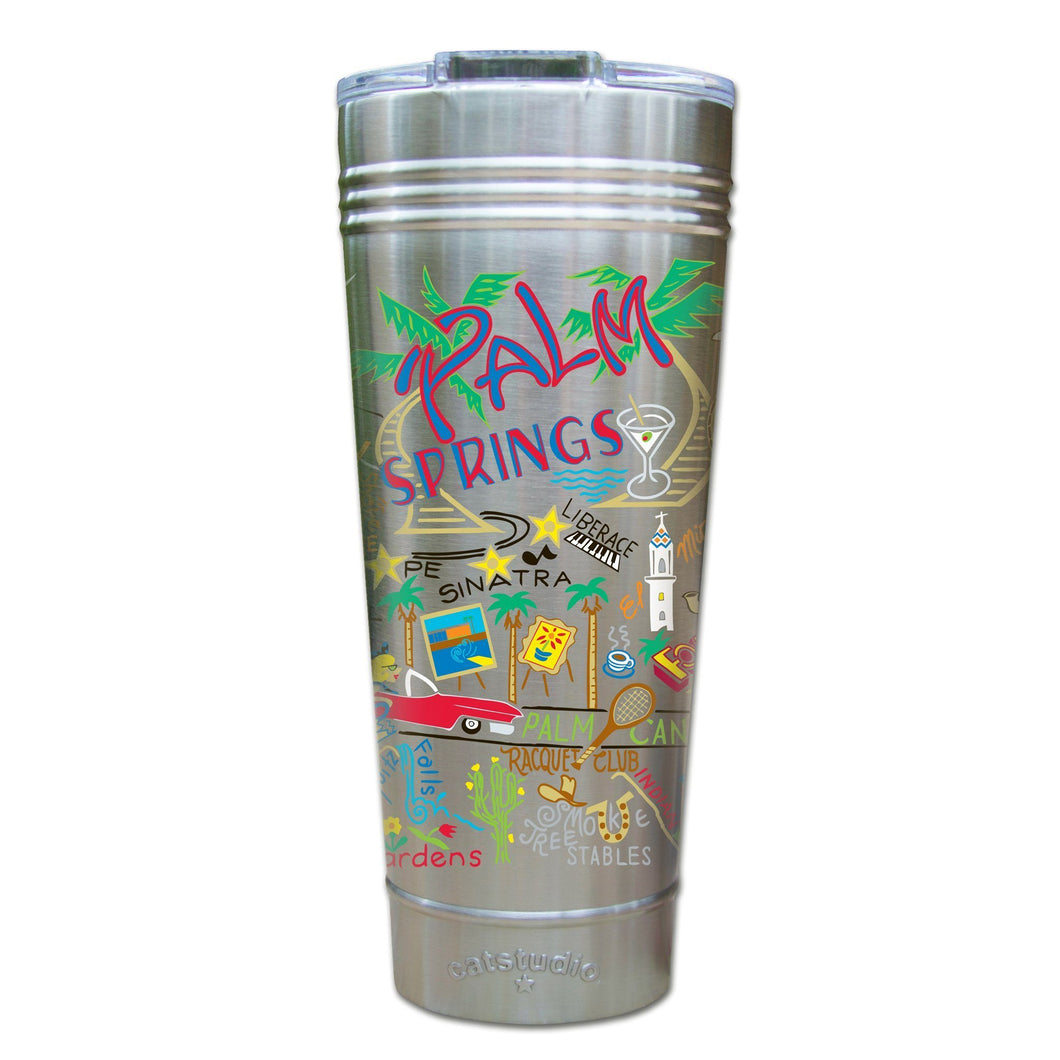 Palm Springs Thermal Tumbler (Set of 4) - PREORDER Thermal Tumbler catstudio