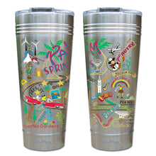 Load image into Gallery viewer, Palm Springs Thermal Tumbler (Set of 4) - PREORDER Thermal Tumbler catstudio