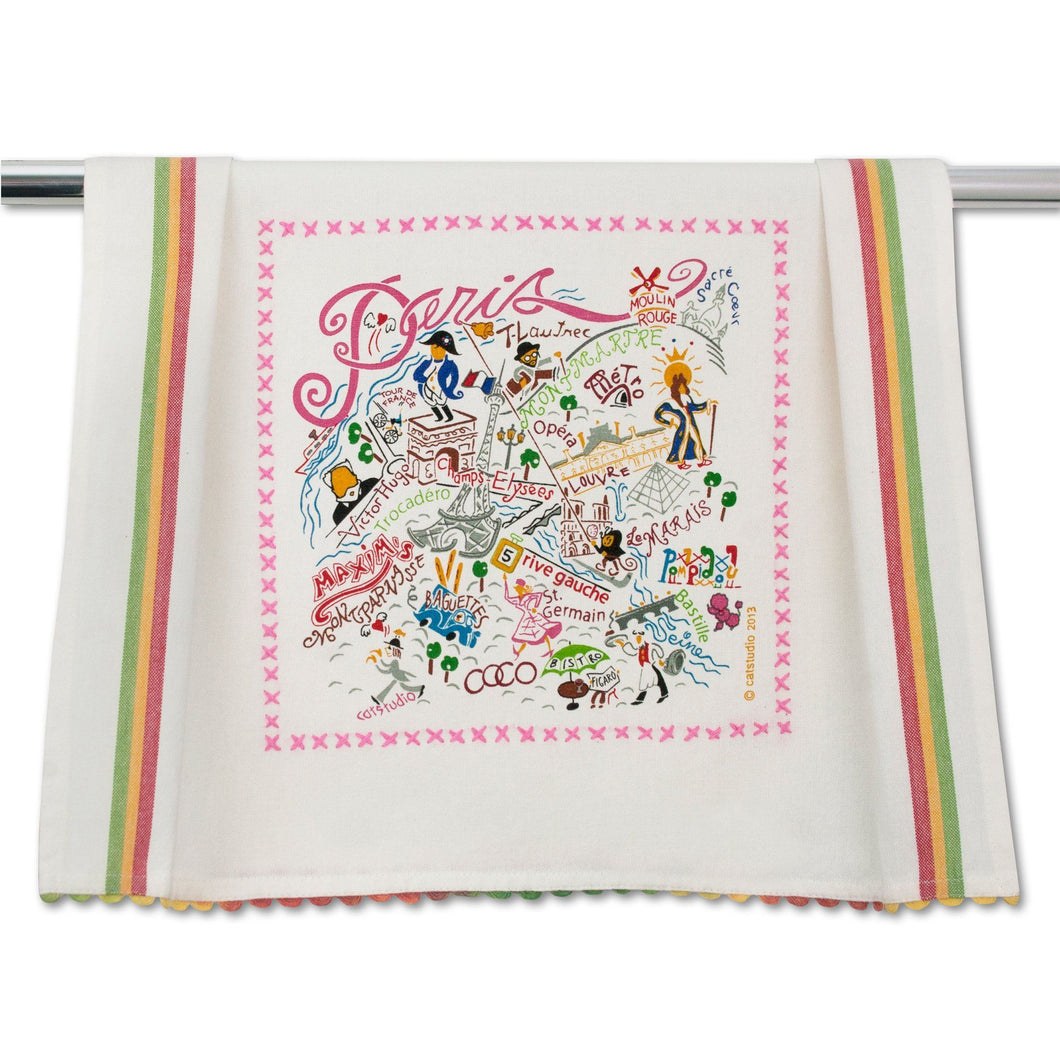 Paris Dish Towel - catstudio