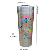 Load image into Gallery viewer, Paris Thermal Tumbler (Set of 4) - PREORDER Thermal Tumbler catstudio