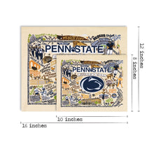 Load image into Gallery viewer, Penn State University Collegiate Fine Art Print - catstudio