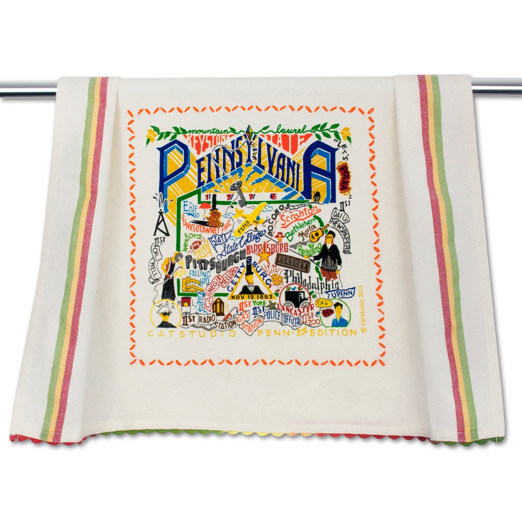 Pennsylvania Dish Towel - catstudio
