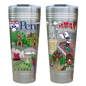 Pennsylvania, University of Collegiate Thermal Tumbler (Set of 4) - PREORDER Thermal Tumbler catstudio
