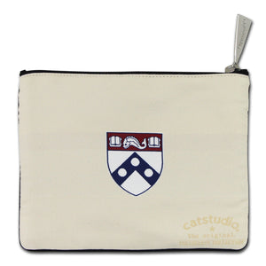 Pennsylvania, University of Collegiate Zip Pouch - catstudio