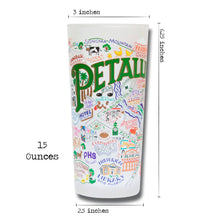Load image into Gallery viewer, Petaluma Drinking Glass - catstudio