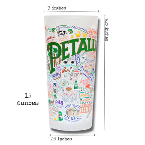 Petaluma Drinking Glass - catstudio