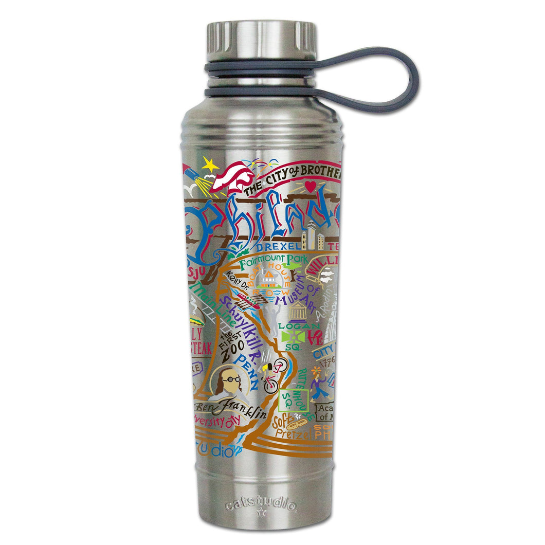Philadelphia Thermal Bottle - catstudio