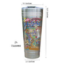 Load image into Gallery viewer, Philadelphia Thermal Tumbler (Set of 4) - PREORDER Thermal Tumbler catstudio