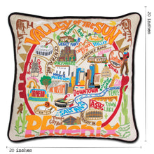 Load image into Gallery viewer, Phoenix Hand-Embroidered Pillow Pillow catstudio
