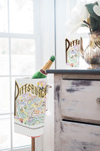 Pittsburgh Dish Towel - catstudio