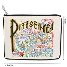 Load image into Gallery viewer, Pittsburgh Pouch Natural Pouch catstudio