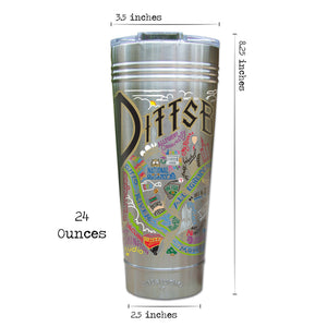 Pittsburgh Thermal Tumbler (Set of 4) - PREORDER Thermal Tumbler catstudio