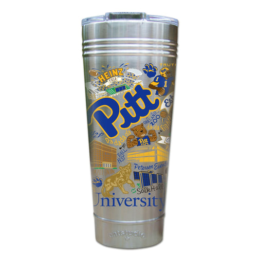 Pittsburgh, University of Collegiate Thermal Tumbler (Set of 4) - PREORDER Thermal Tumbler catstudio