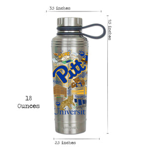 Pittsburgh, University of Collegiate Thermal Bottle - catstudio