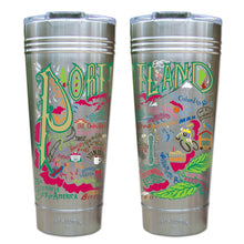 Load image into Gallery viewer, Portland, OR Thermal Tumbler (Set of 4) - PREORDER Thermal Tumbler catstudio