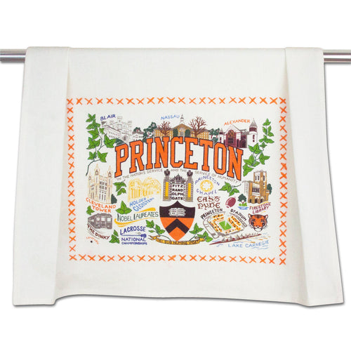 Princeton University Collegiate Dish Towel - catstudio